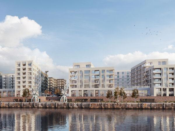 quartierszentrum baakenhafen a tour architekturf hrungen. Black Bedroom Furniture Sets. Home Design Ideas