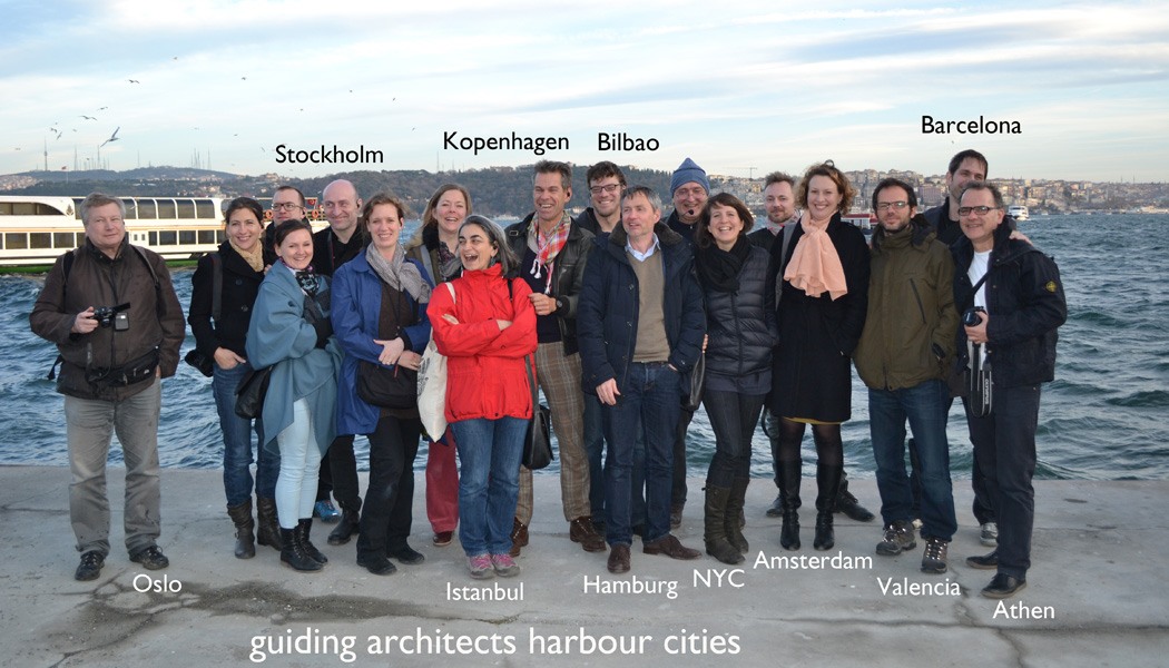 stadtfuehrung hamburg architektur Guiding Architects harbour cities