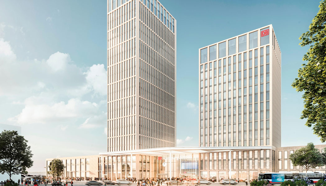 Neuer fernbahnhof hamburg altona am diebsteich for Architekten hamburg altona