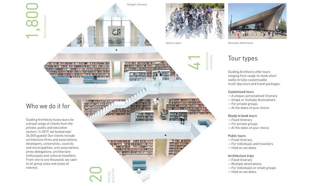 Guiding Architects Leporéllo