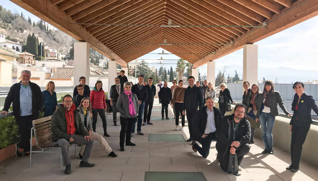 Guding Architects meeting in Andalucía