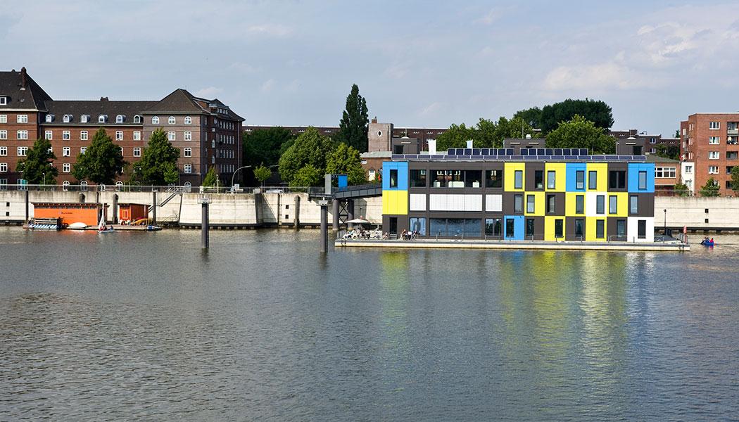 stadtfuehrung hamburg architektur IBA Dock Wilhemlsburg