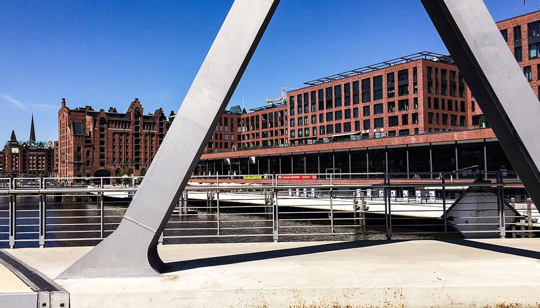 stadtfuehrung hamburg architektur HafenCity Elbarkaden