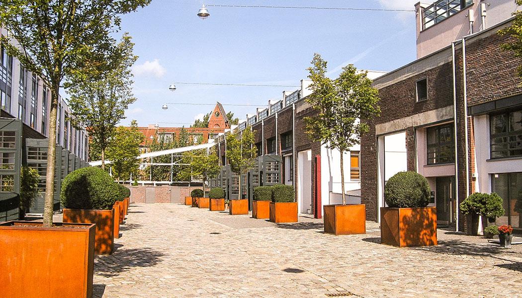 stadtfuehrung hamburg architektur Townhouses Falkenried
