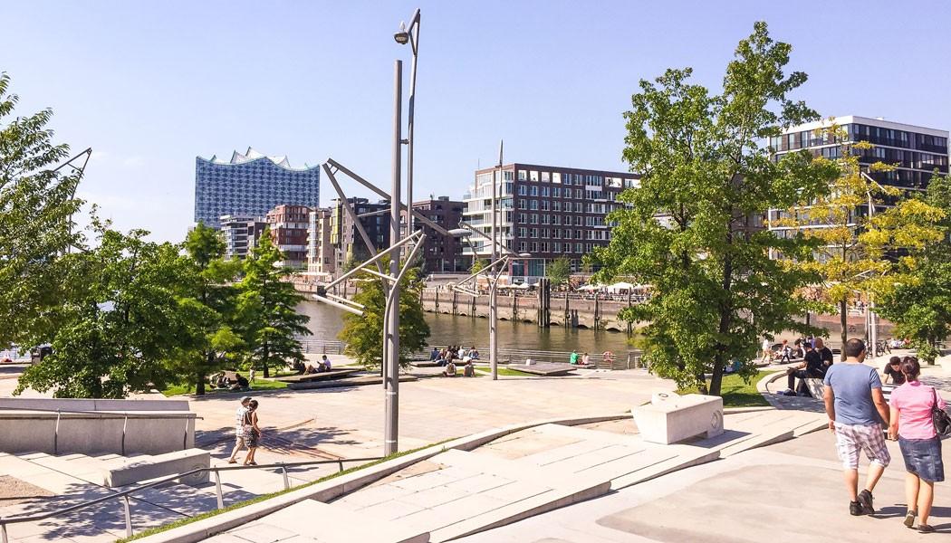 stadtfuehrung hamburg architektur HafenCity Marco-Polo-Terrassen, HafenCity
