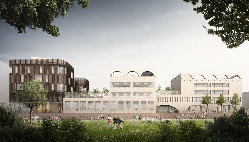 Bildungs-und Familienzentrum Baakenhafen, Spatenstich für neue Grundschule Am Baakenhafen