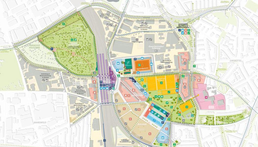 Rahmenplan Quartier am Diebsteich