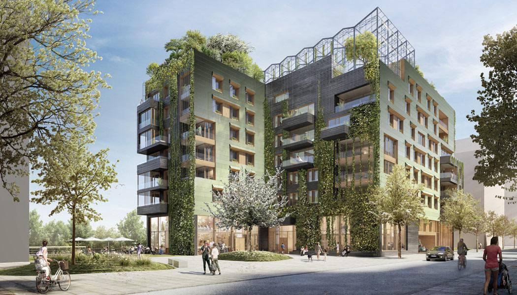 Drei neue Bauvorhaben im Quartier Baakenhafen