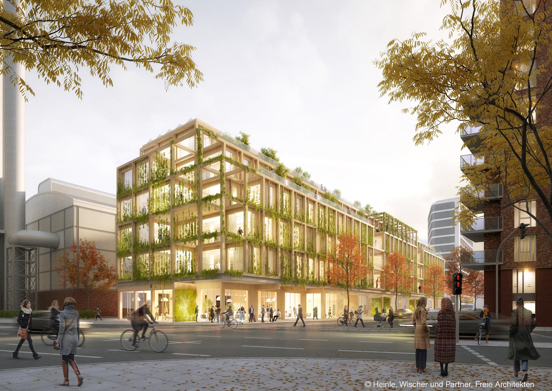 Null-Emissionshaus HafenCity Hamburg