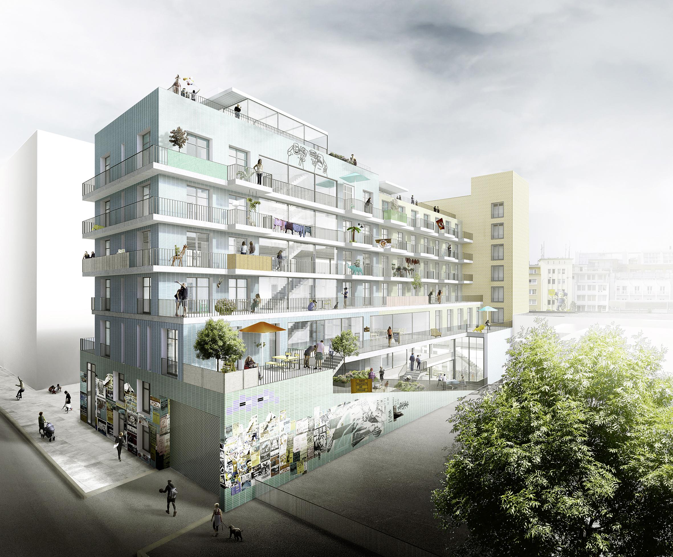 Paloma Viertel f72 Architekten