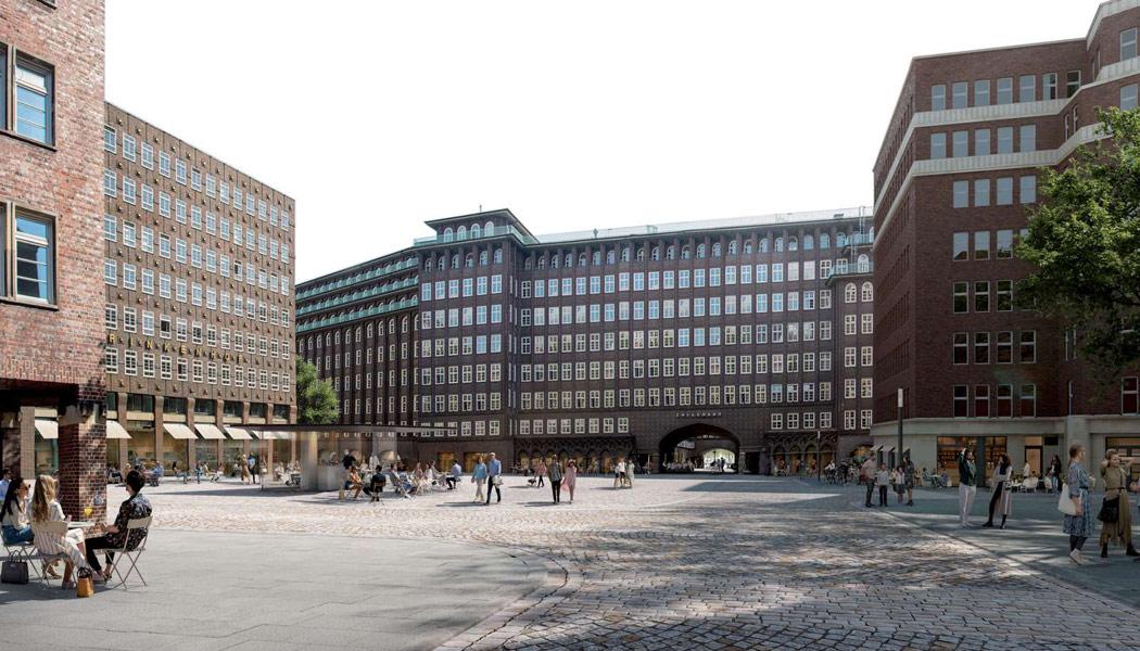 Konzept für die Umgestaltung des Burchardplatzes