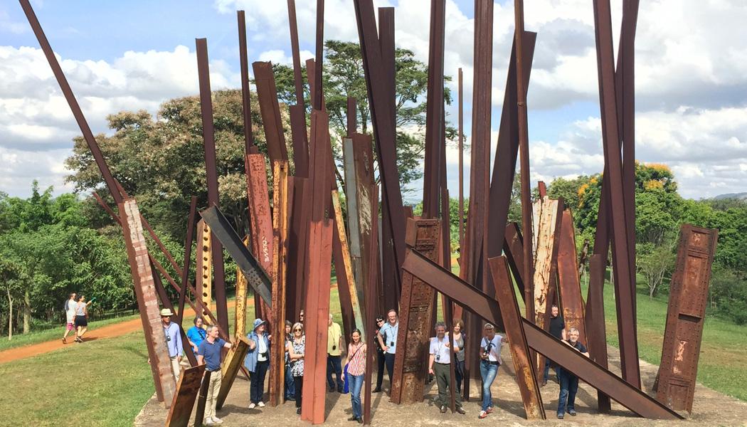 architecture trip to Brazil