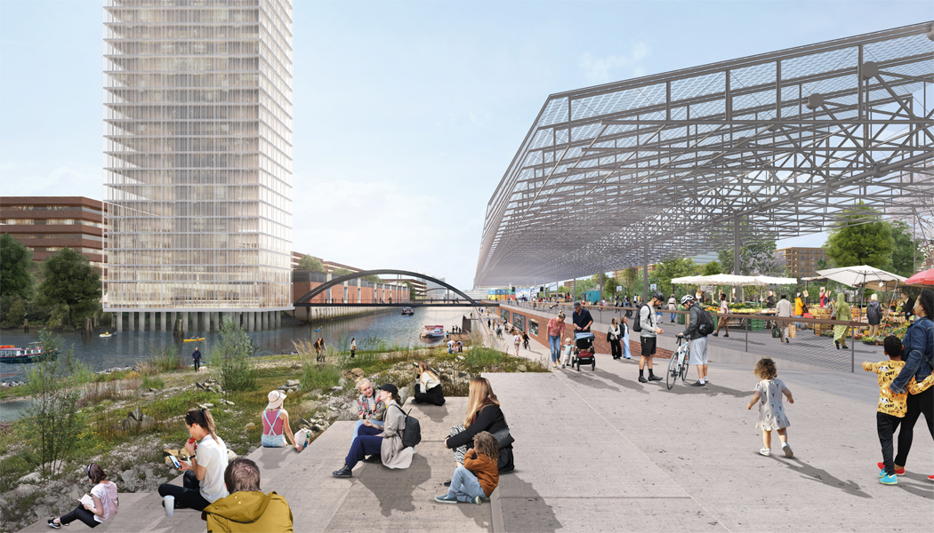 Herzog & de Meuron win urban planning competition for new Grasbrook district together with Vogt Landschaftsarchitekten